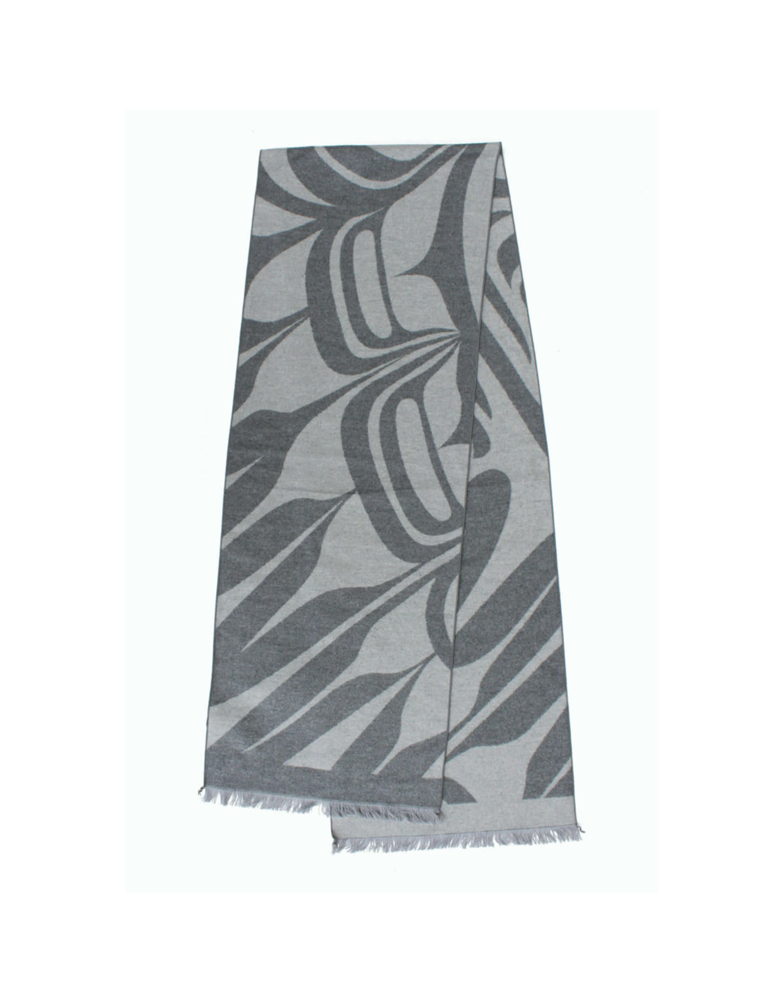 Brushed Silk Scarf 'Eagle'