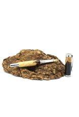 Maple Fountain Pen - Berezia Fusion Black Chrome