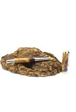 Maple Fountain Pen - Berezia Lapis Gold