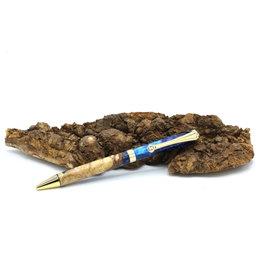 Maple Pen - Alhena Fusion Blue Gold