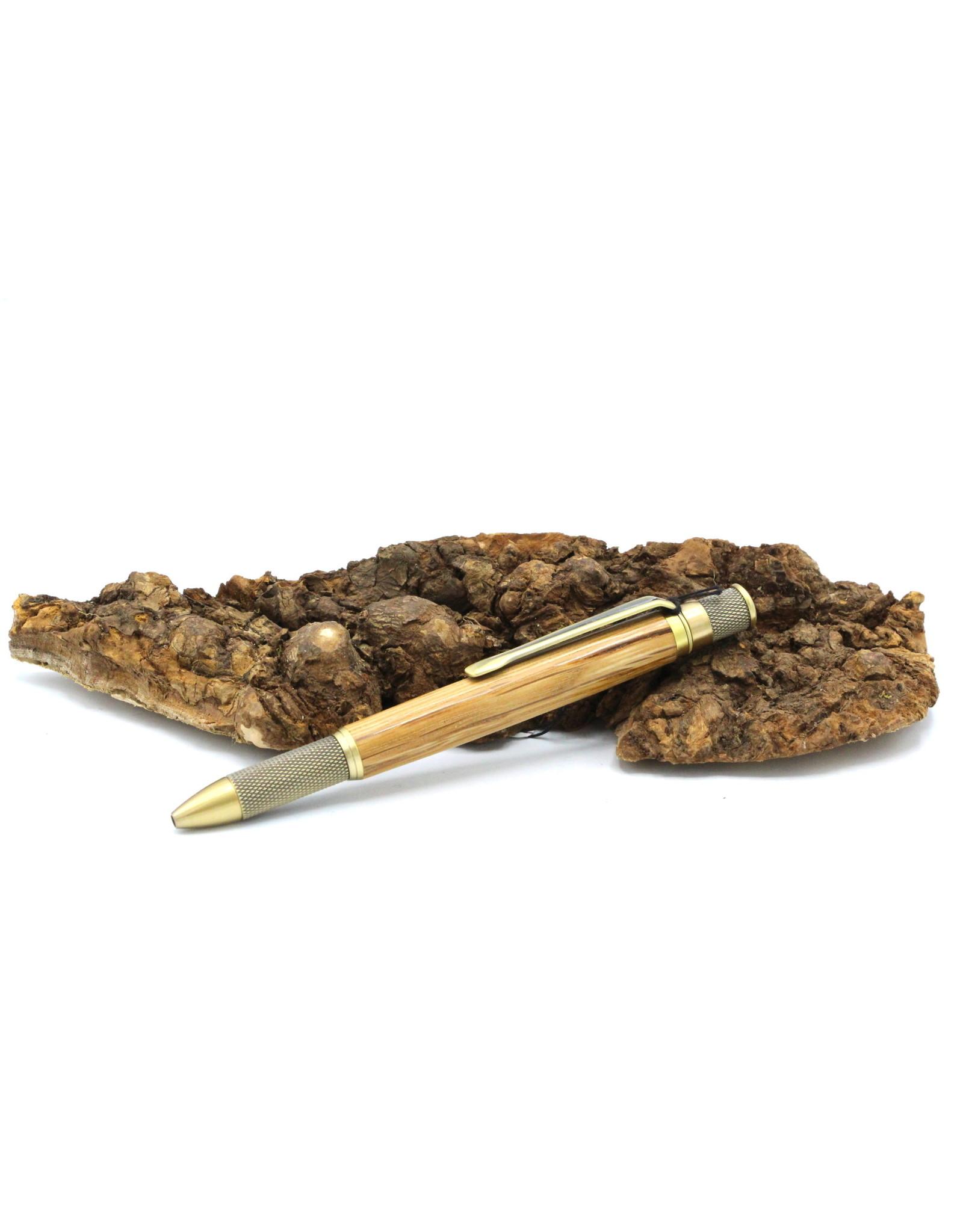 Maple Pen - Gizona Jack Daniel Brass