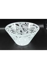 Glass Bowl - Raven