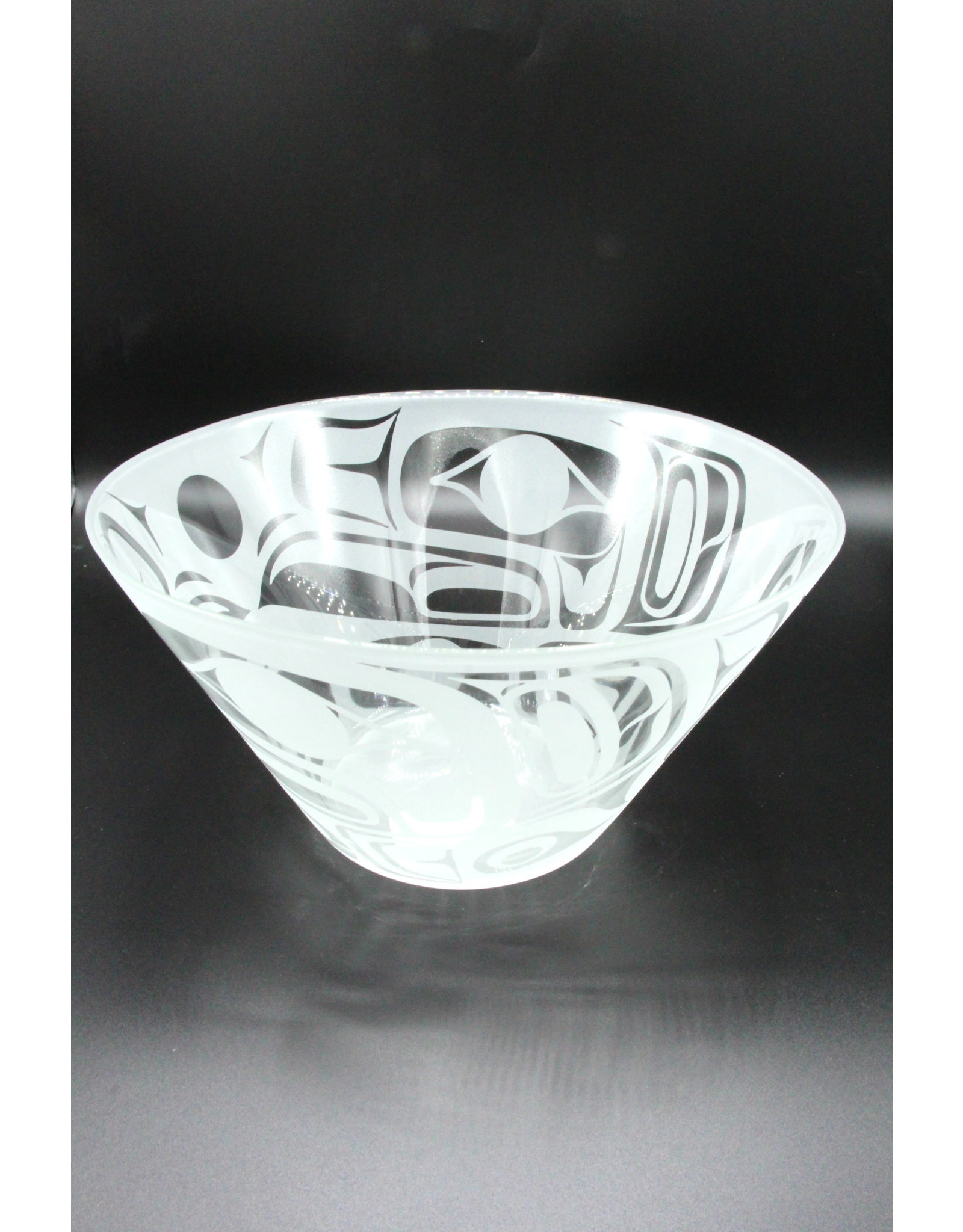 Glass Bowl - Eagle