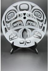 Glass Plate - Raven