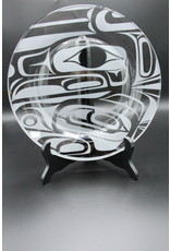 Glass Plate - New Raven
