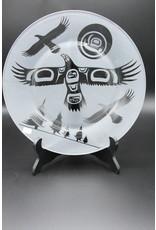 Glass Plate - Eagle