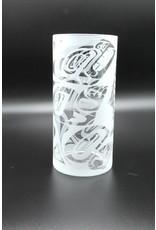 Glass Vase - Bear