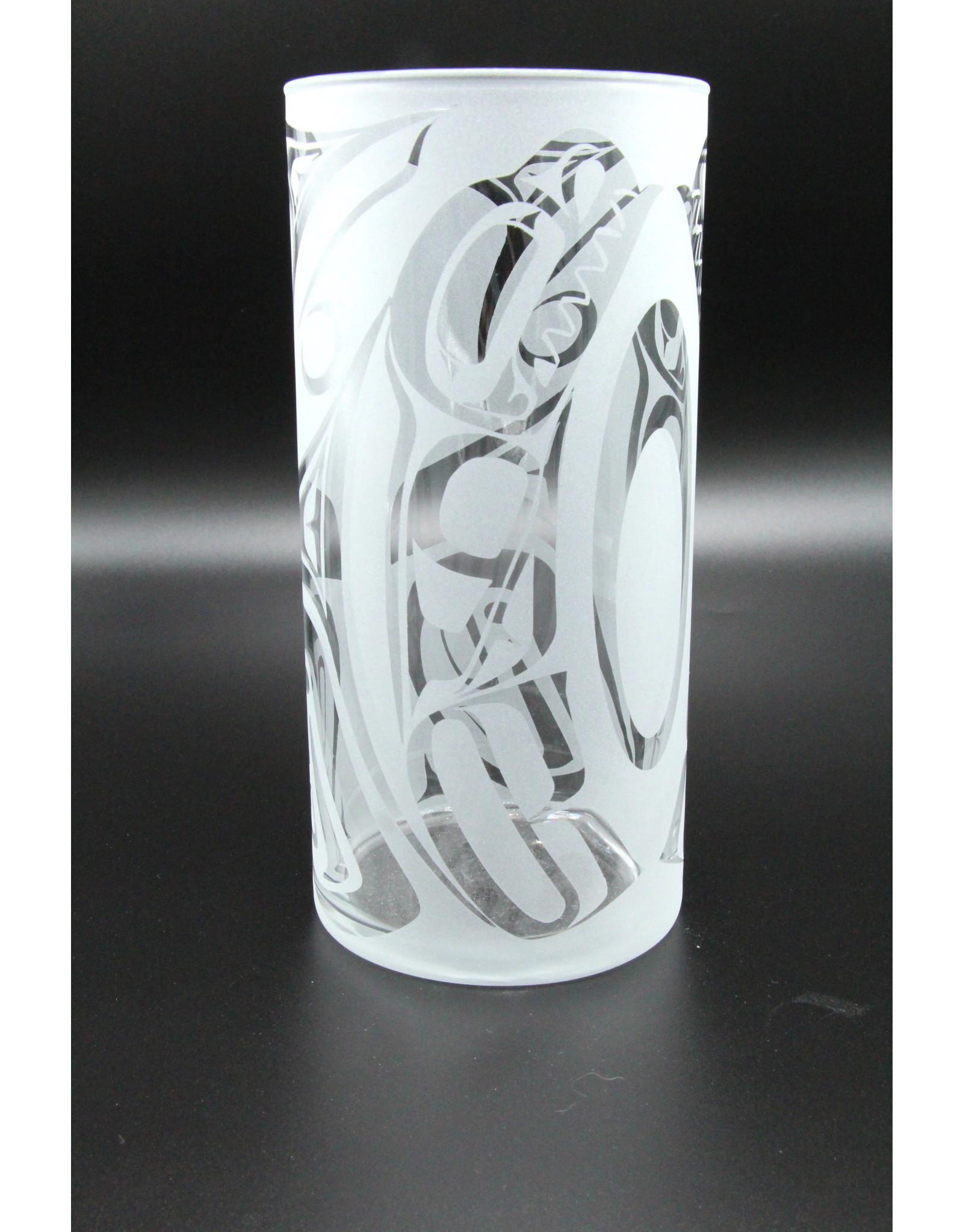 Glass Vase - Orca