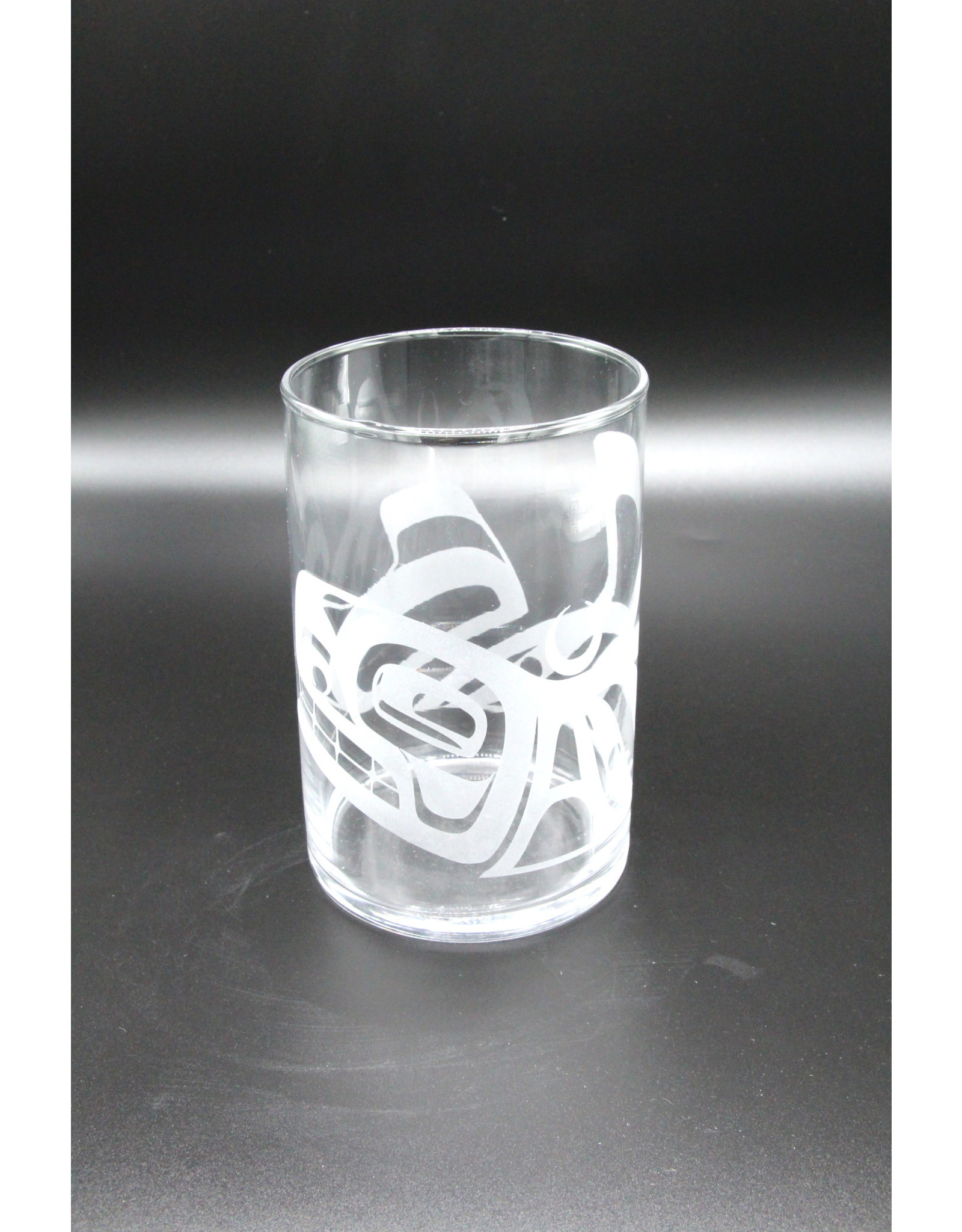 Glass Cylinder - Orca