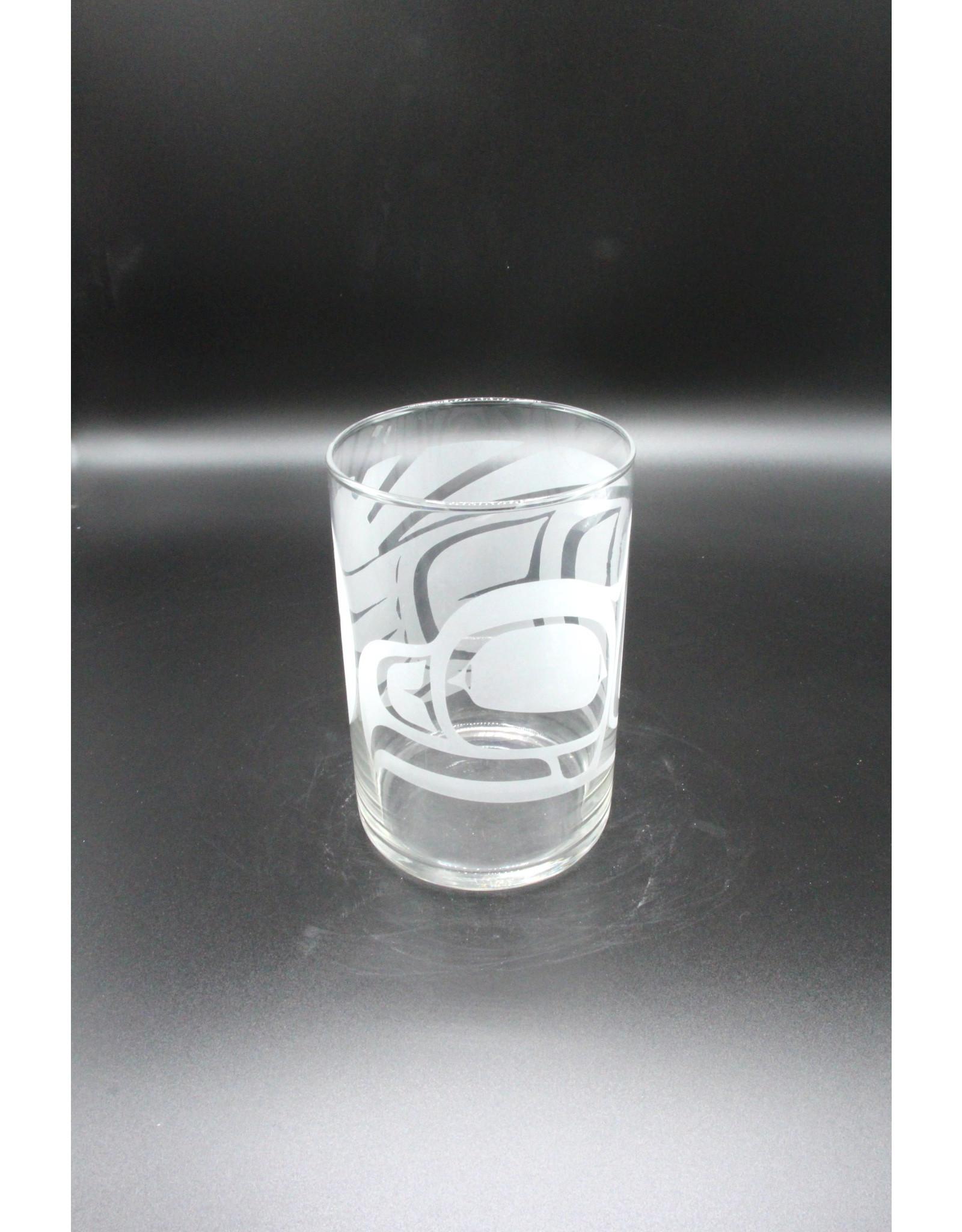 Glass Cylinder - Eagle