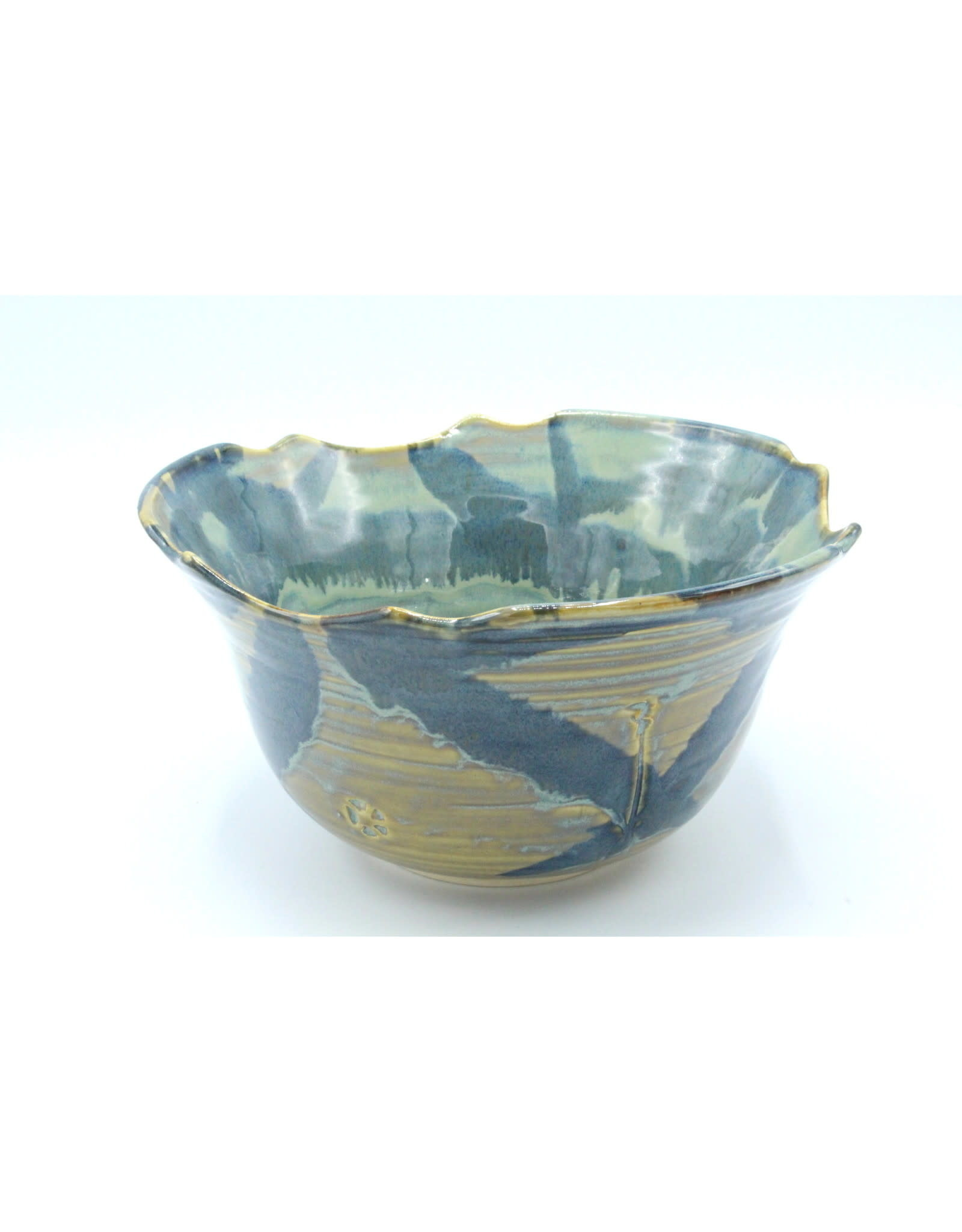 Small Serving Bowl - Green