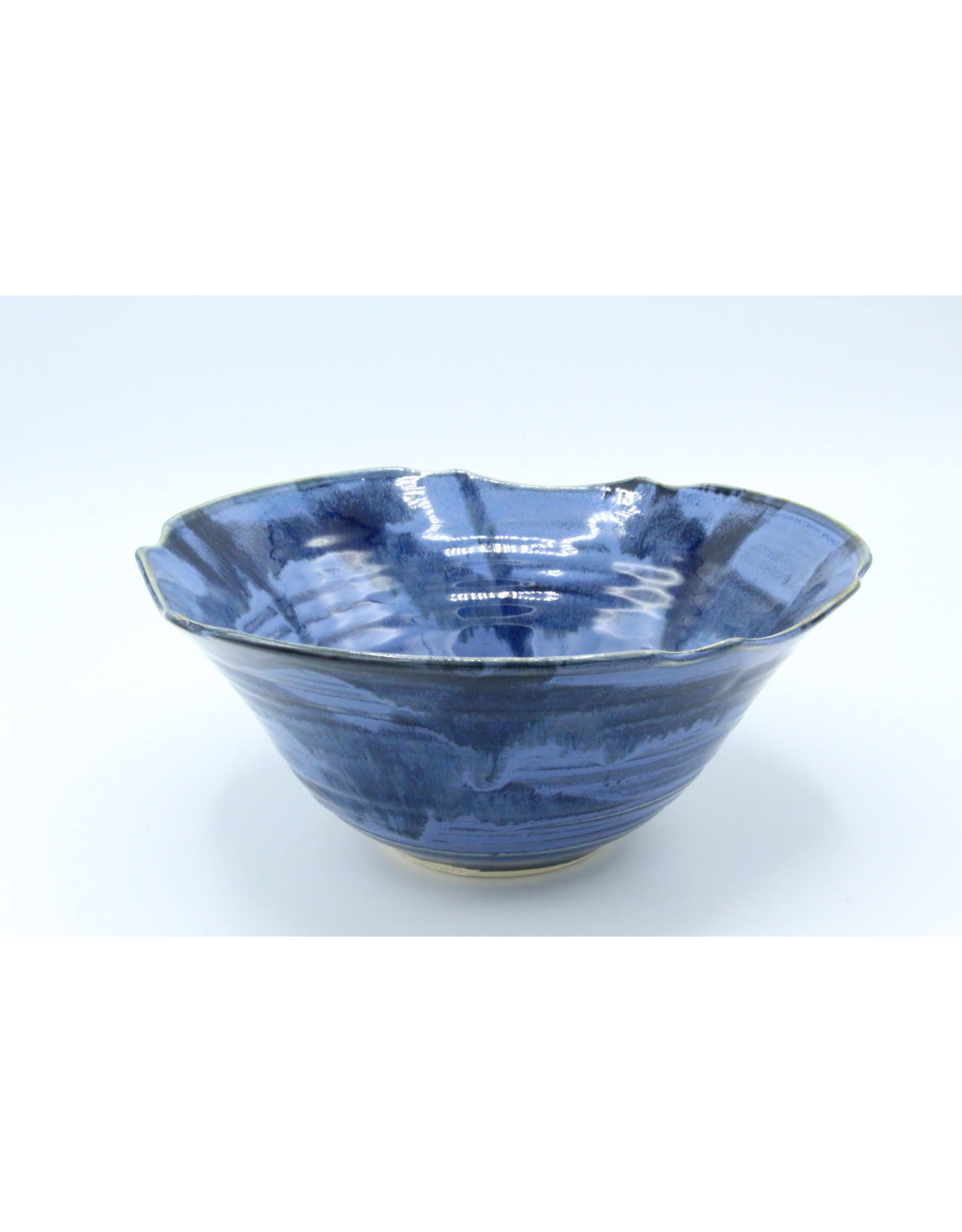 Small Serving Bowl - Blue