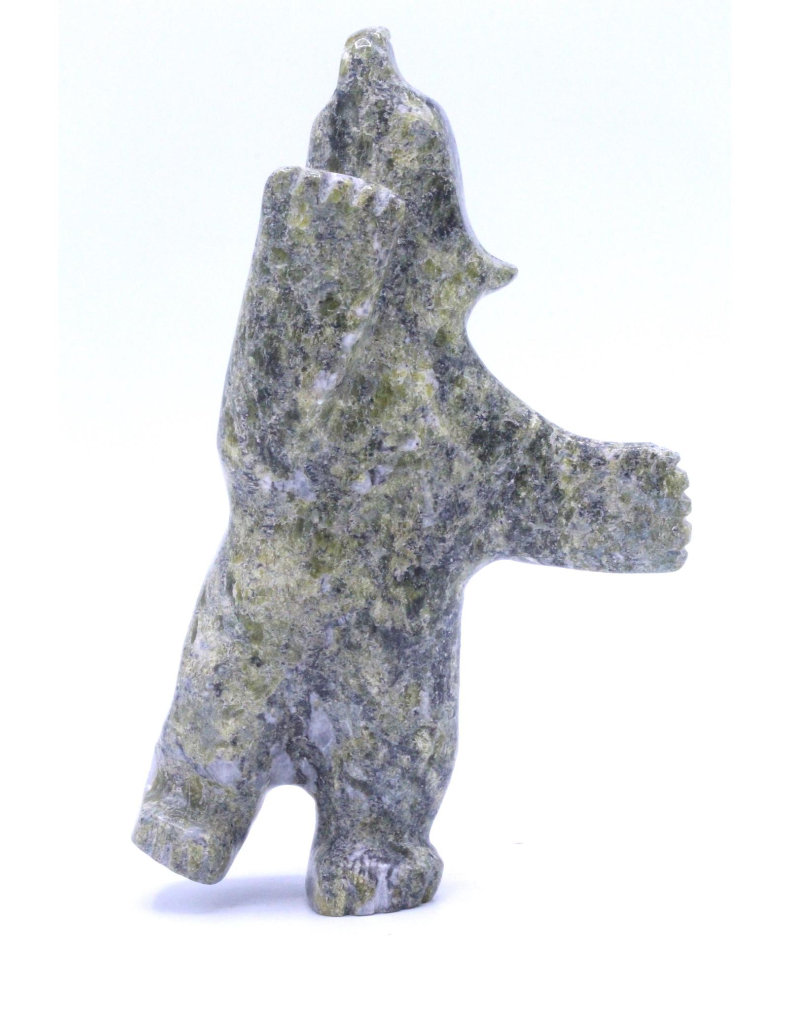 Dancing Bear by Johnny Papigatuk - 8776L