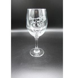 Wine Glass - Bear