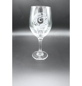 Wine Glass - Eagle