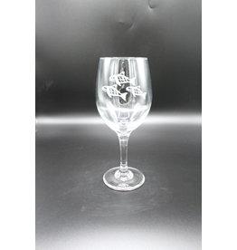 Wine Glass - Salmon