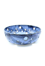 Large Fruit Bowl Blue