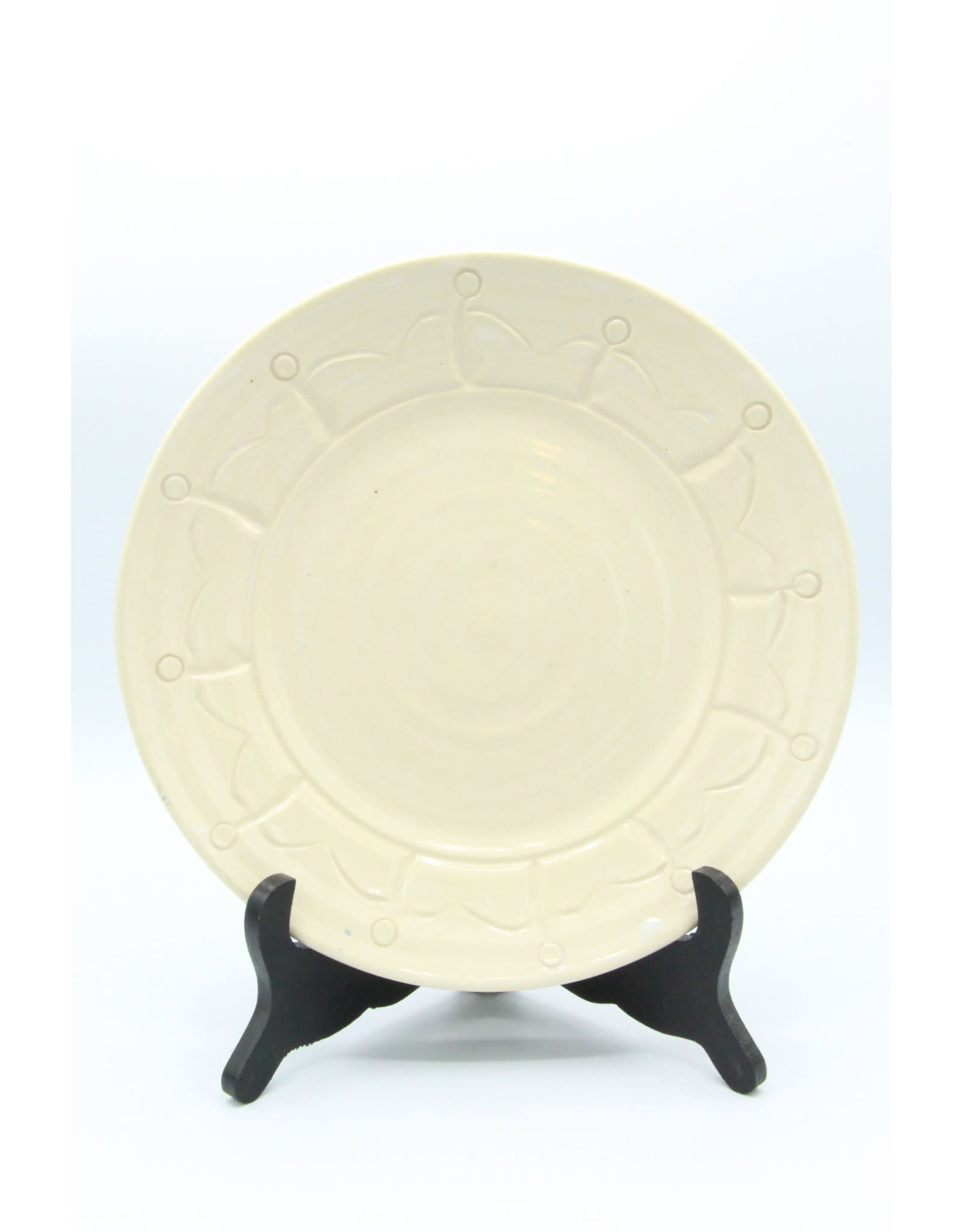 Friendship Plate - Ivory