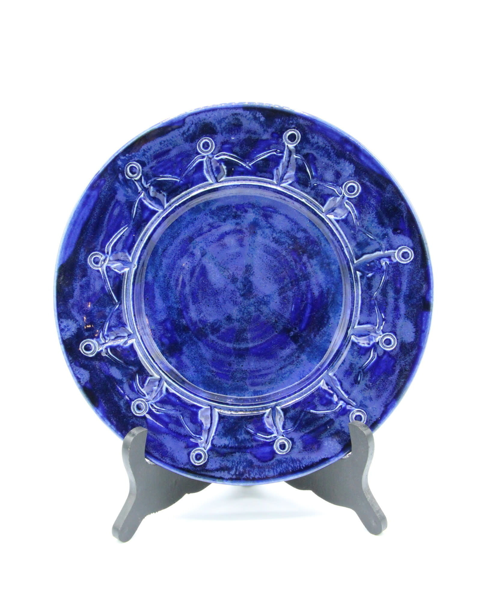 Friendship Plate - Cobalt