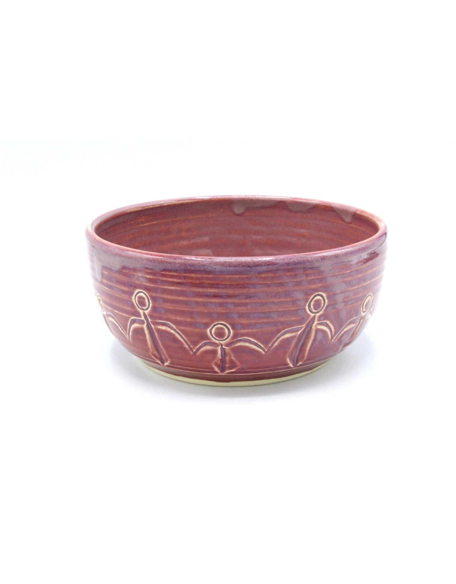 Medium Friendship Bowl - Rose