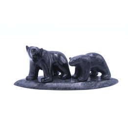 Two Bears by Siutiapik Ragee