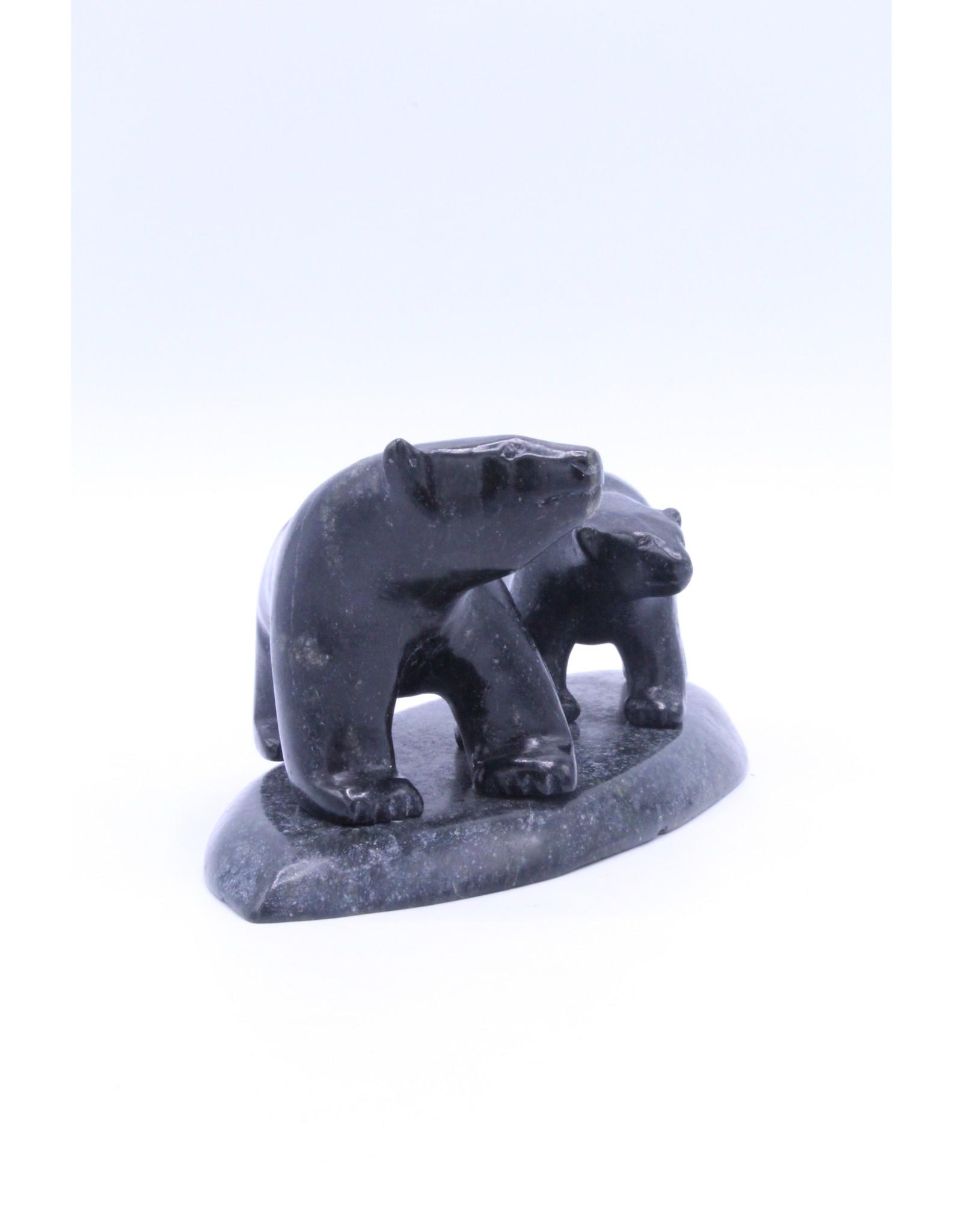 Two Bears by Siutiapik Ragee - 821004042