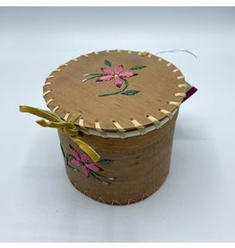 Small Round Birchbark Basket - 20017A