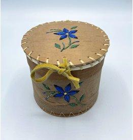 Small Round Birchbark Basket - 20018A