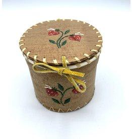 Small Round Birchbark Basket - 20010A