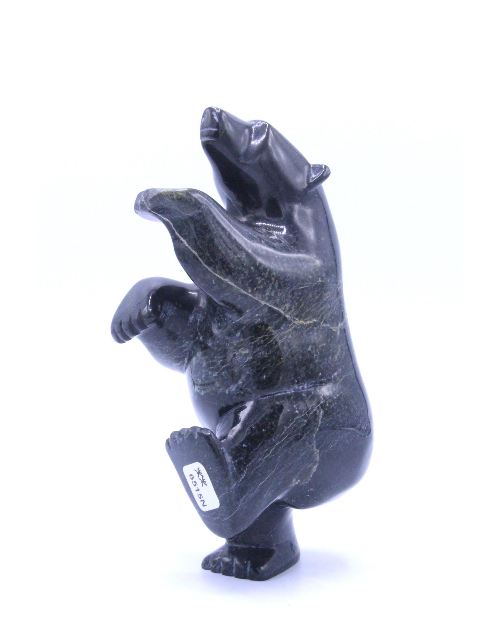 Dancing Bear by Ottokie Ashoona