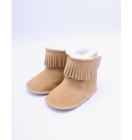 Baby Lined Moccasin - Brown