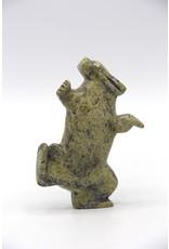 6192M Dancing Rabbit by Pitseolak Qimirpik