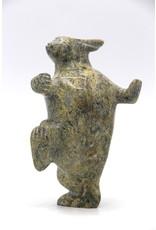 15980 Arctic Hare by Pitseolak Qimirpik