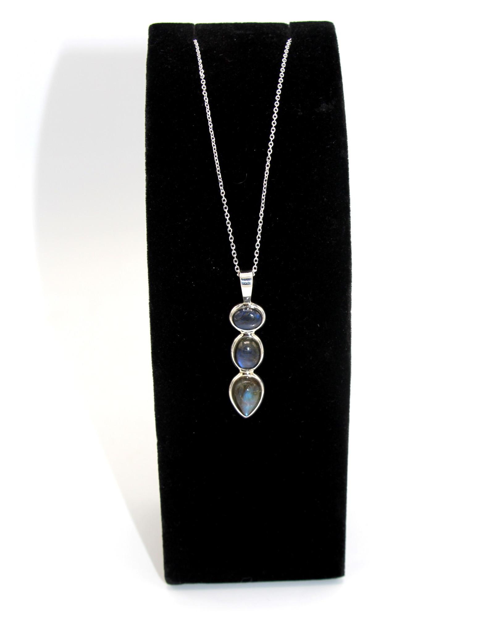 Labradorite Necklace - 10612
