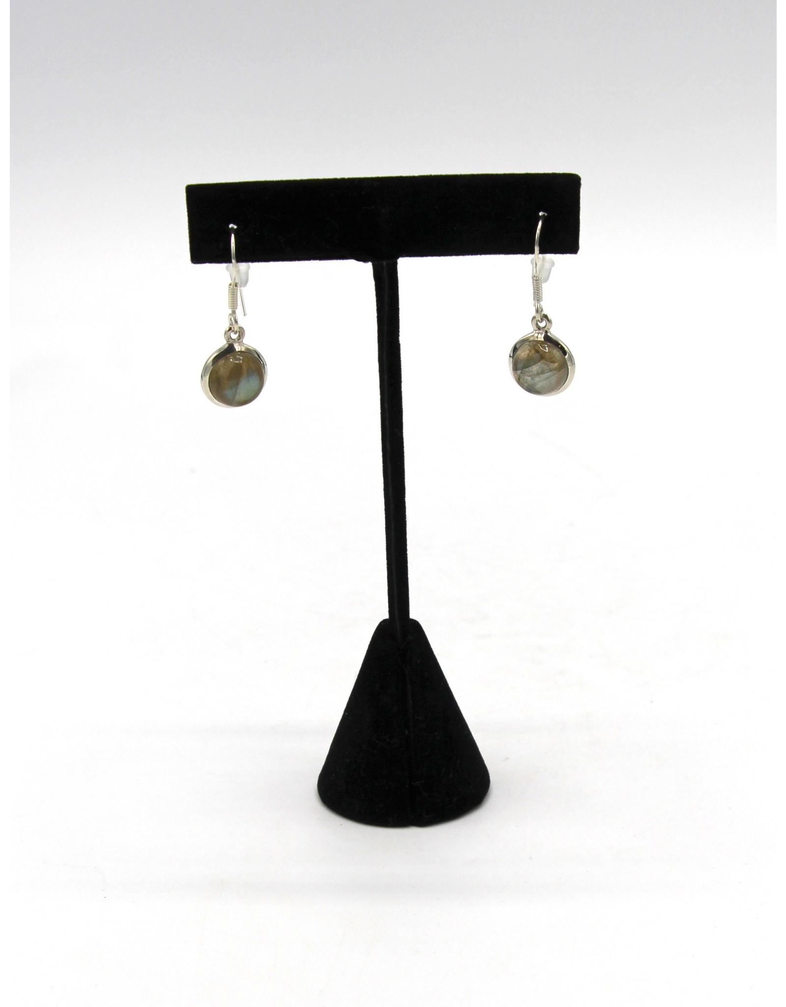 Labradorite Earrings - 105008