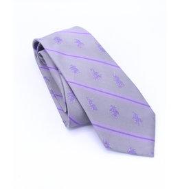 Inukshuk Silk Tie Grey