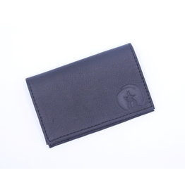 Seal Skin Card Holder Black