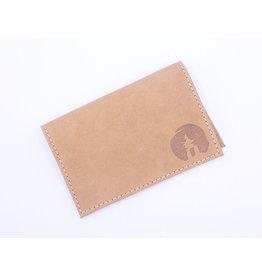 Seal Skin Card Holder Cork