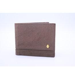 Muxkox Leather Wallet Brown - George