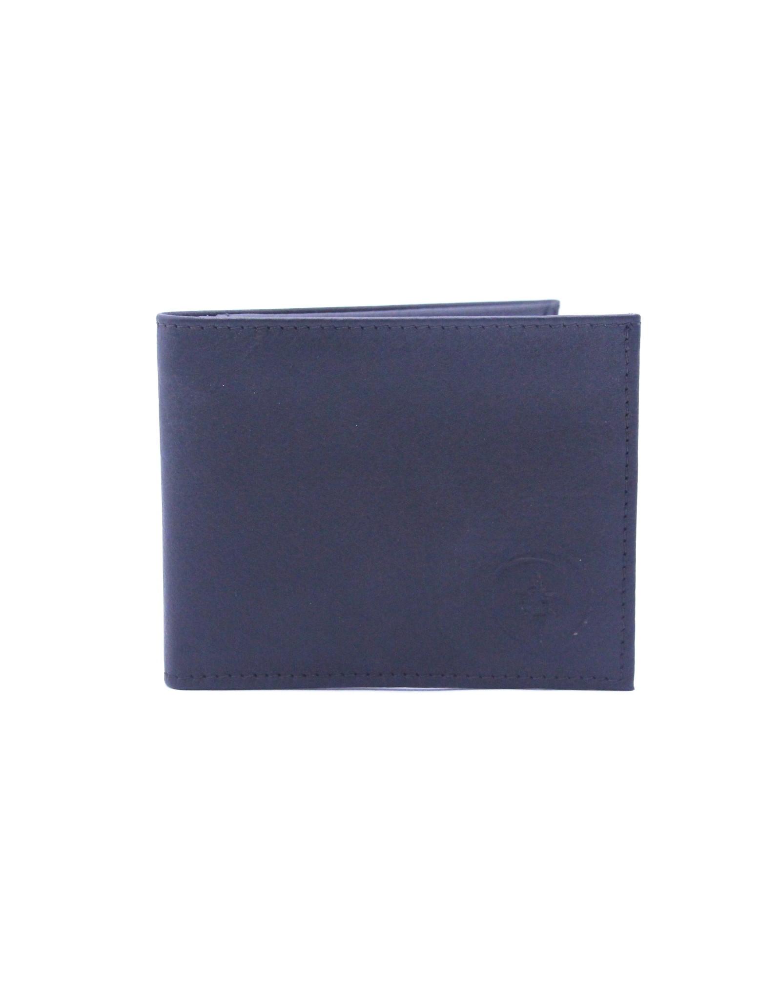 57015 Black MuskOx Leather Wallet
