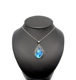 Large Labradorite Necklace