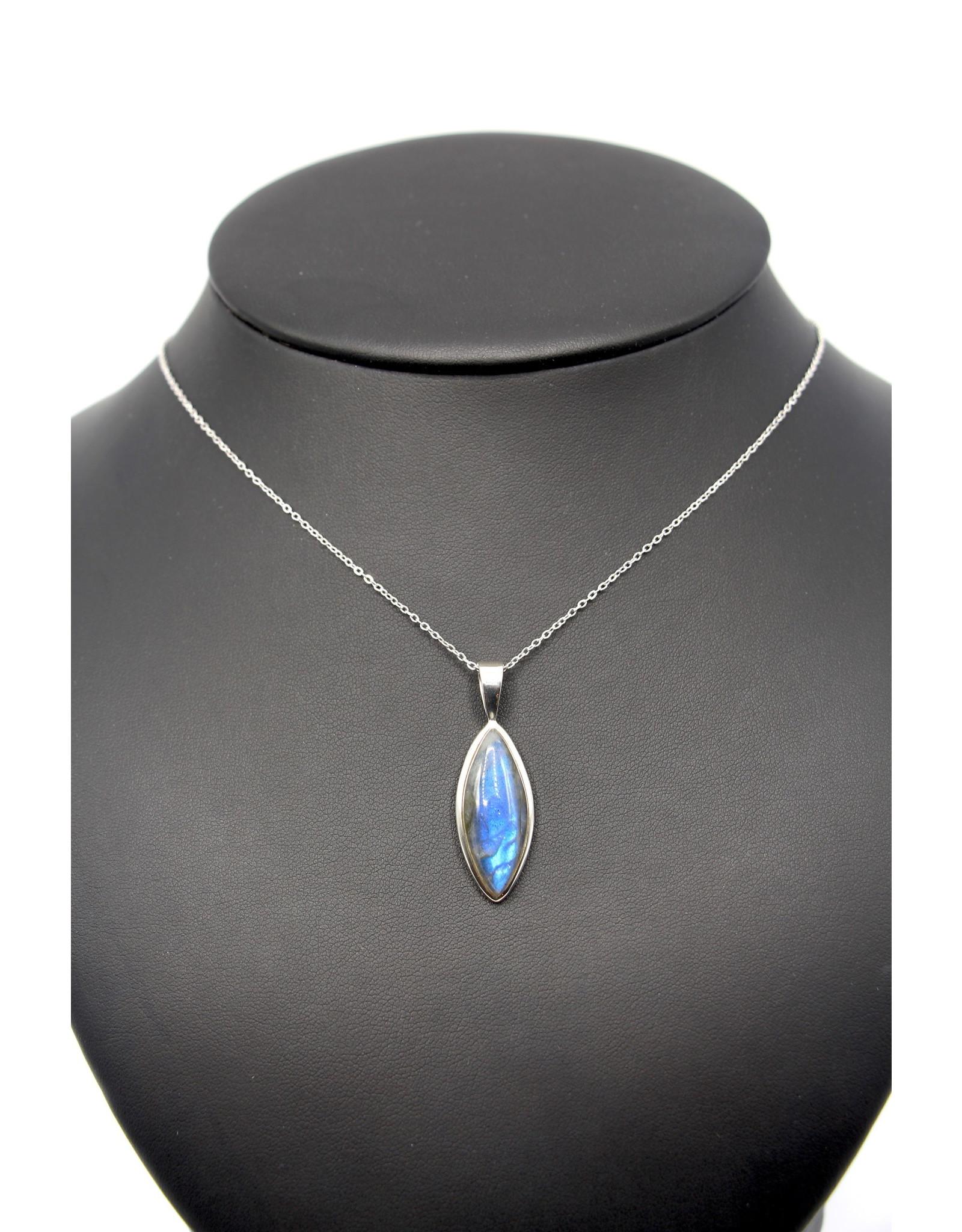 Labradorite Necklace - 10631