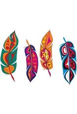 Feathers by Angela Kimble Card
