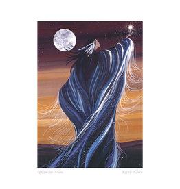 September Moon by Betty Albert Card