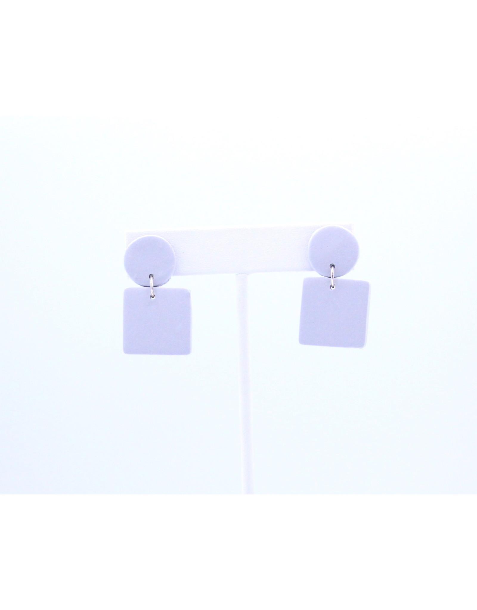 Emerson Earrings - Grey