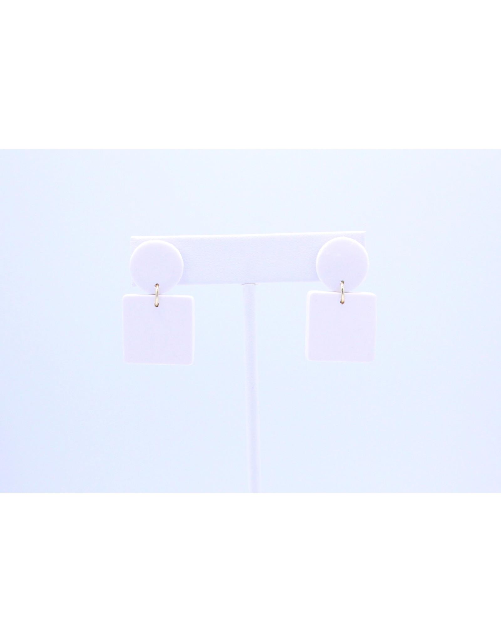 Emerson Earrings - White