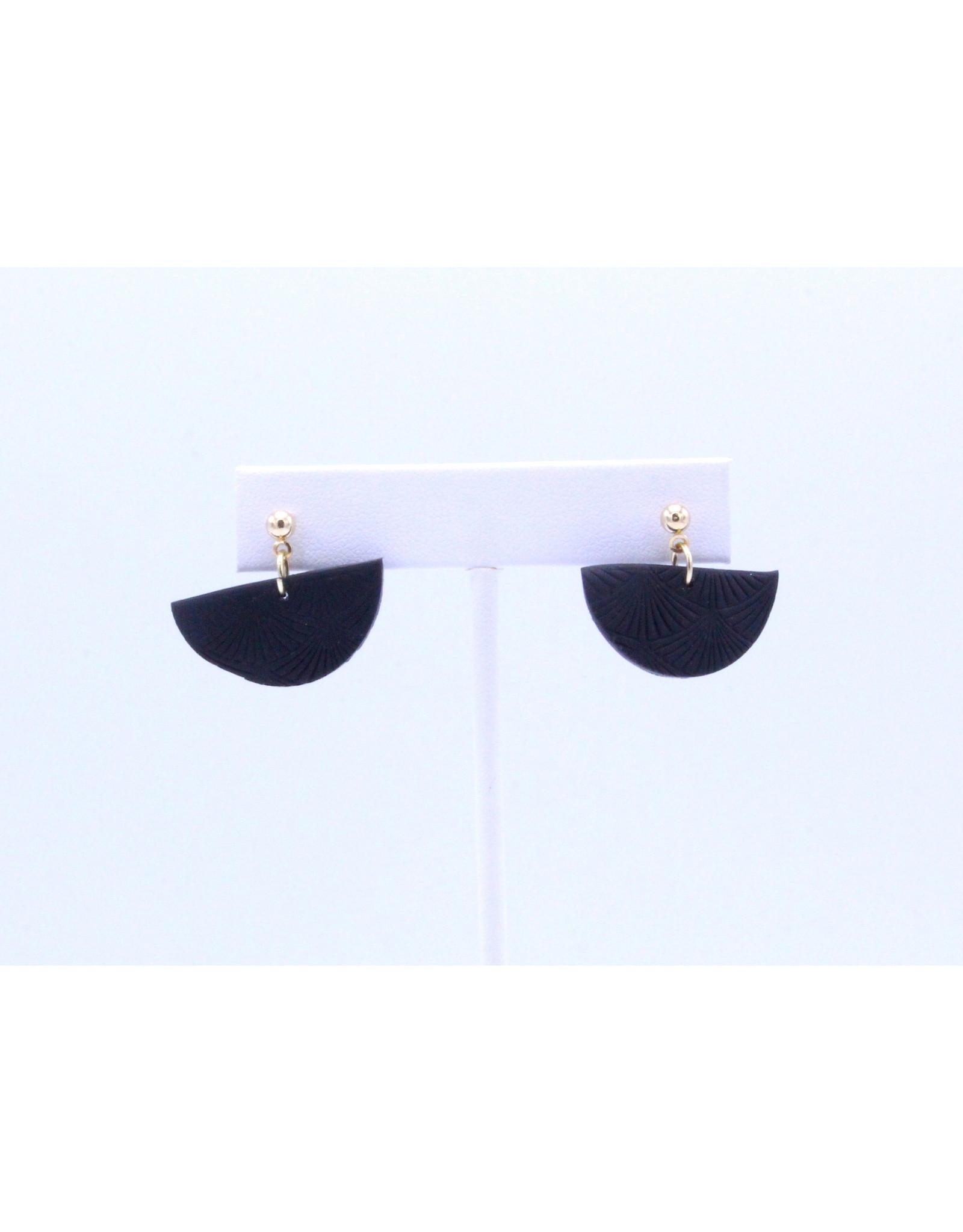 Kleo Earrings - Black