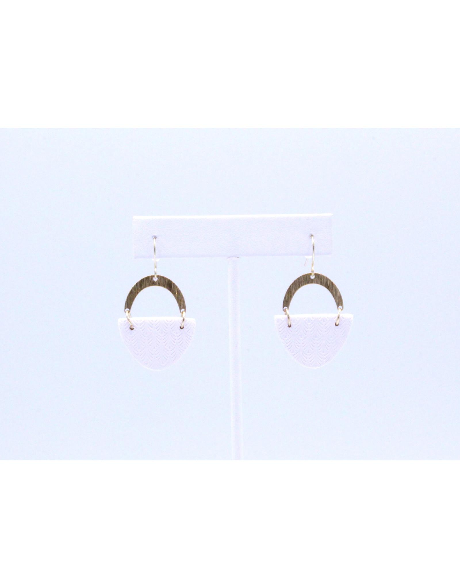 Harper Earrings - White