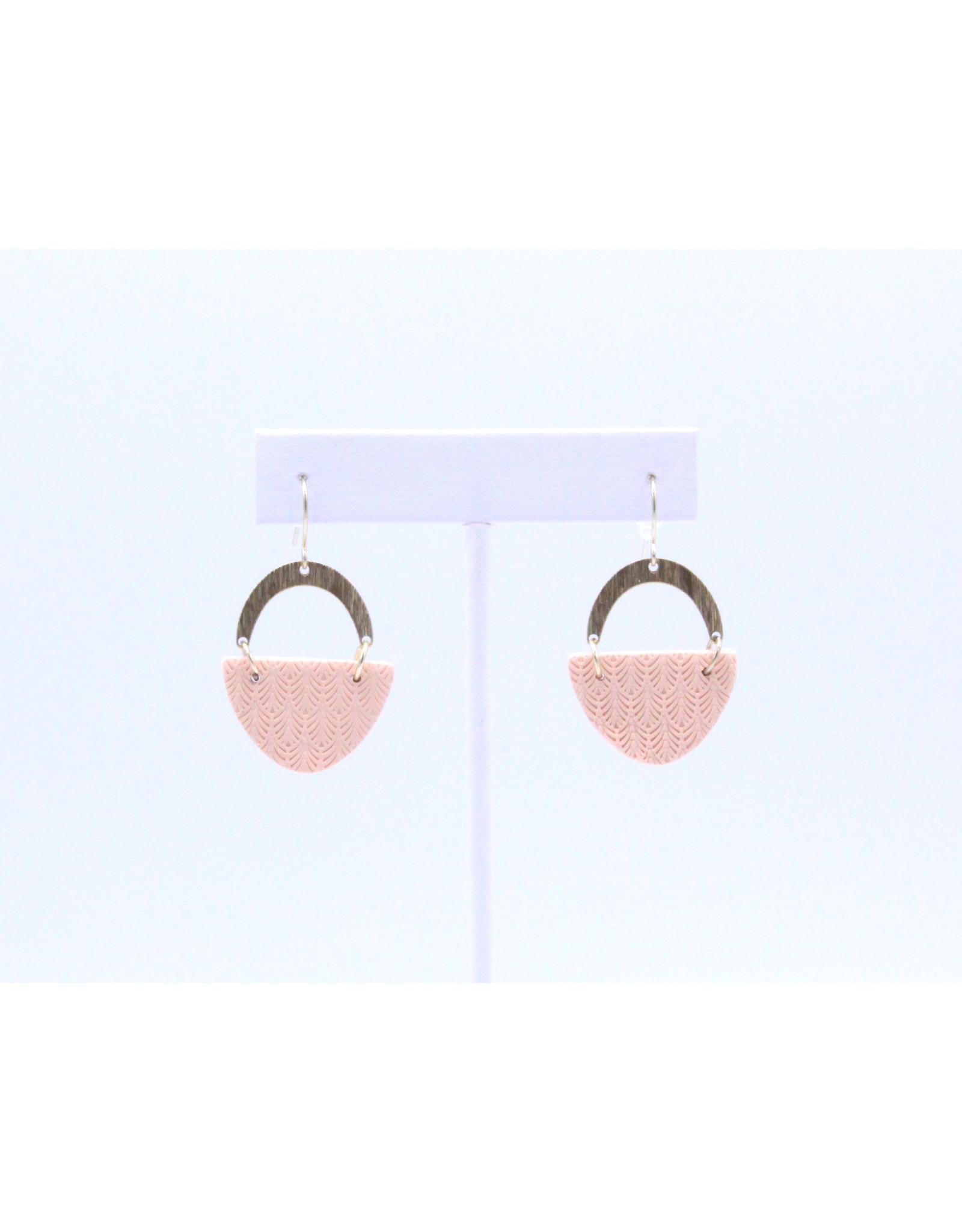 Harper Earrings - Rose