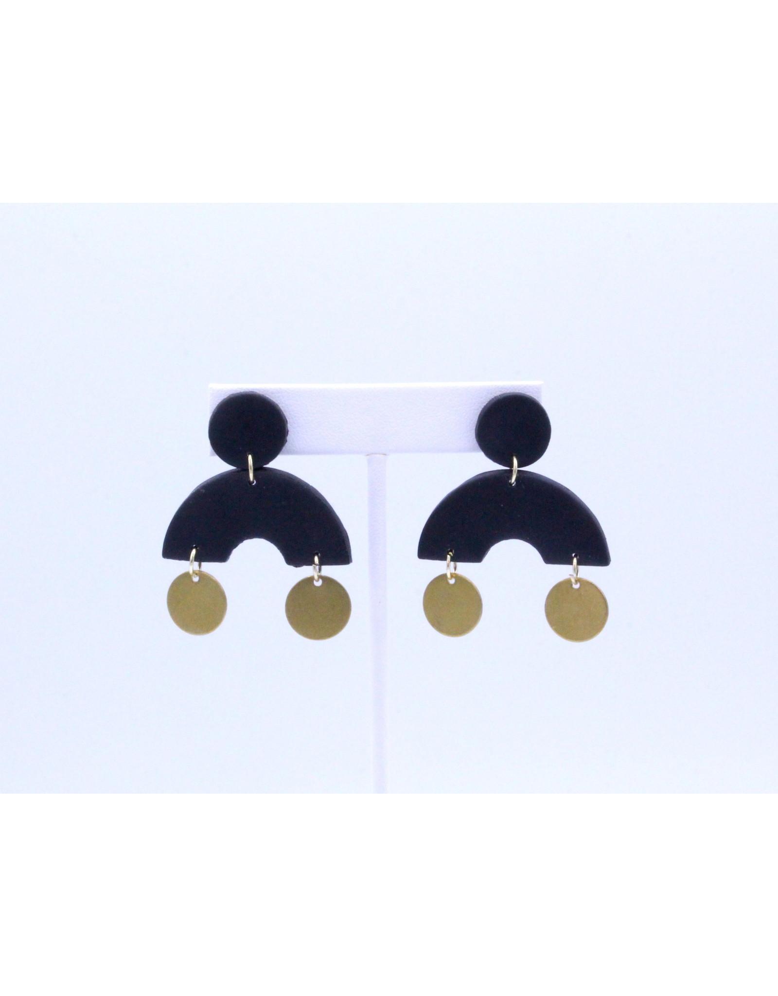 Arizona Earrings  - Black